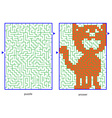 Childs picture puzzles vector image