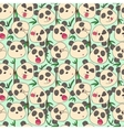 Pattern of cheerful muzzles pandas vector image