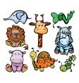cute baby animals vector image