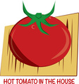 Hot Tomato vector image