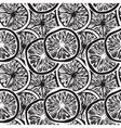 lemon slices background vector image