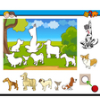 educational game for kids vector image