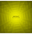 Abstract Yellow Geometric Tunnel Background vector image