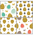 Decorative Easter seamless pattern vector image vector image