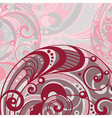 abstract bright background with spiral vector image