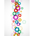 Abstract circles vector image