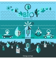 Ecology Banners Set vector image