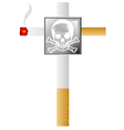 cigarette vector image