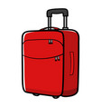 graphic of a travel bag vector image