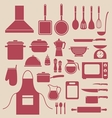 kitchen icon vector image