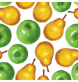 pear apple seamless vector image