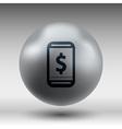 Phone tariff plan cost icon money spending vector image