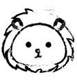 stuffed animal lion vector image