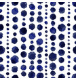 vintage retro dotted pattern vector image