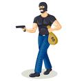 Robber Cartoon vector image