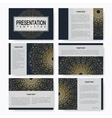 Golden set of templates for multipurpose vector image