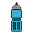 thermo water bottle vector image