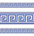 Greek geometrical pattern vector image
