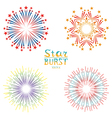 Set of retro abstract backgrounds vector image