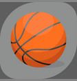 basketball ball activity leisure sport symbol team vector image