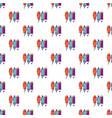 pencil set pattern seamless vector image