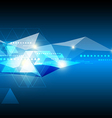 abstract future technology background vector image