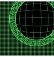 war game interface technology vector image