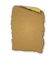 vintage blank paper vector image