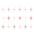 Pastel colored vector image
