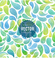 Watercolor seamless geometric pattern vector image