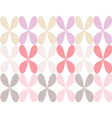 Pastel colored flower vector image vector image