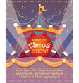 Circus Vintage Poster vector image
