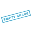 Empty Space Rubber Stamp vector image