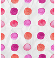 Seamless watercolor spot background vector image vector image
