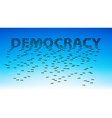 Democracy vector image vector image