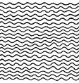 irregular waves pattern vector image