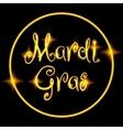 Mardi Gras or Fat Tusday vector image
