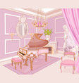 princess music room vector image vector image