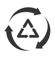 recycle reduse reuse icon vector image