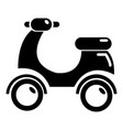 scooter icon simple style vector image