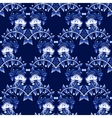 Seamless pattern in Gzhel style National ornament vector image