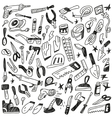 working tools - doodles vector image
