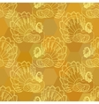 Thanksgiving graphic seamless pattern with turkey vector image
