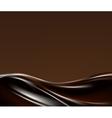Dark chocolate wave vector image