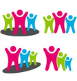 people pictograms vector image