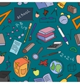 Doodle pattern of learning vector image