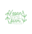 Farm Products Calligraphic Cafe Board vector image