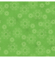 light green geometric texture with flowers vector image vector image