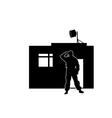 watchman vector image