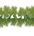 Flat Christmas Banner vector image vector image